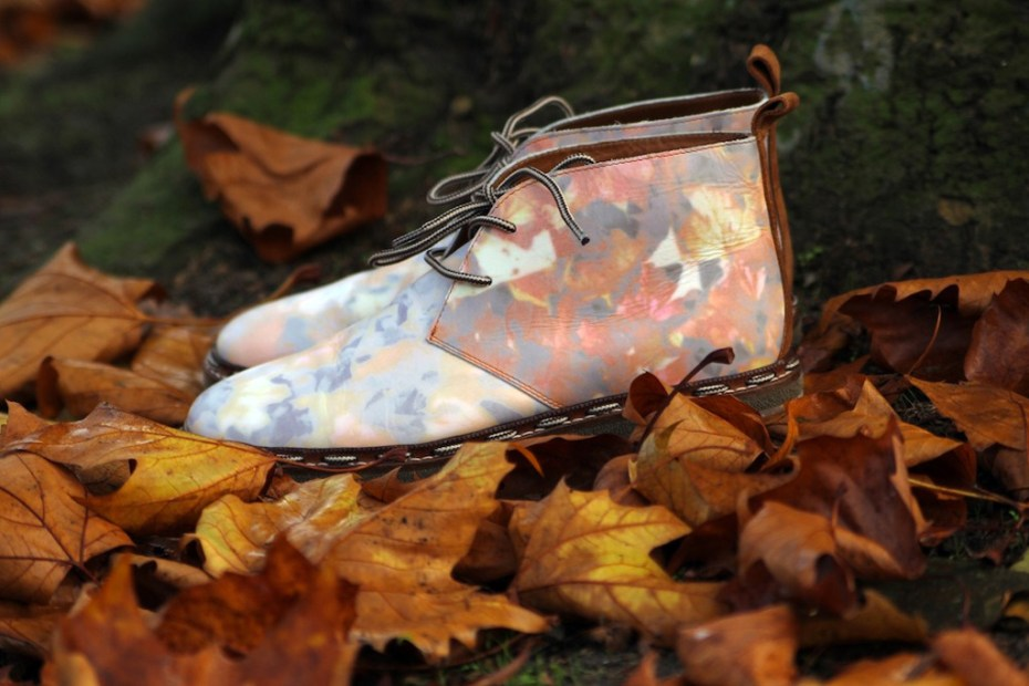 "Image of SIXby6bloggers: Style Salvage x Six London ""Autumn Leaves Kicking"" Boot"