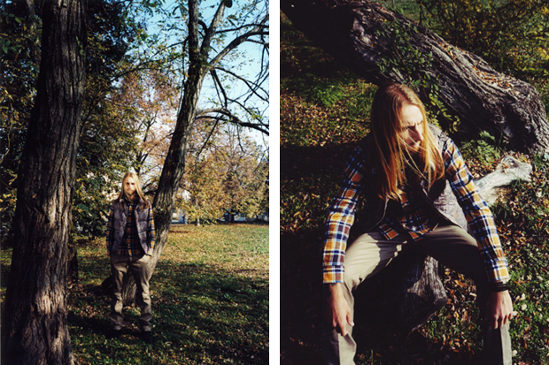 "Image of Slam Jam 2011 Winter ""Portra"" Lookbook"