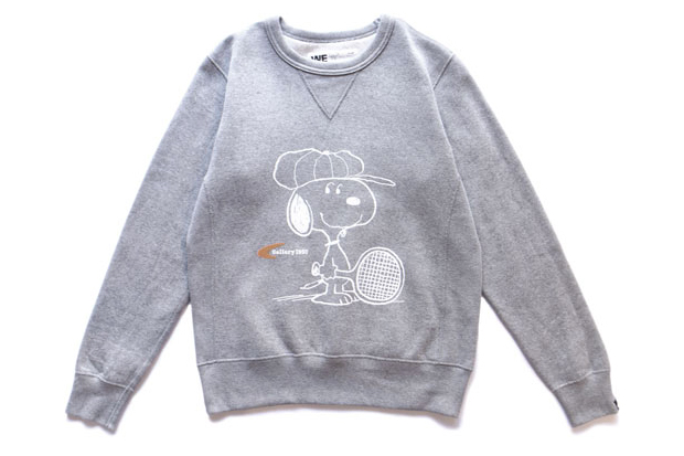 Image of Snoopy x Gallery 1950 Loopwheel Sweat Crew