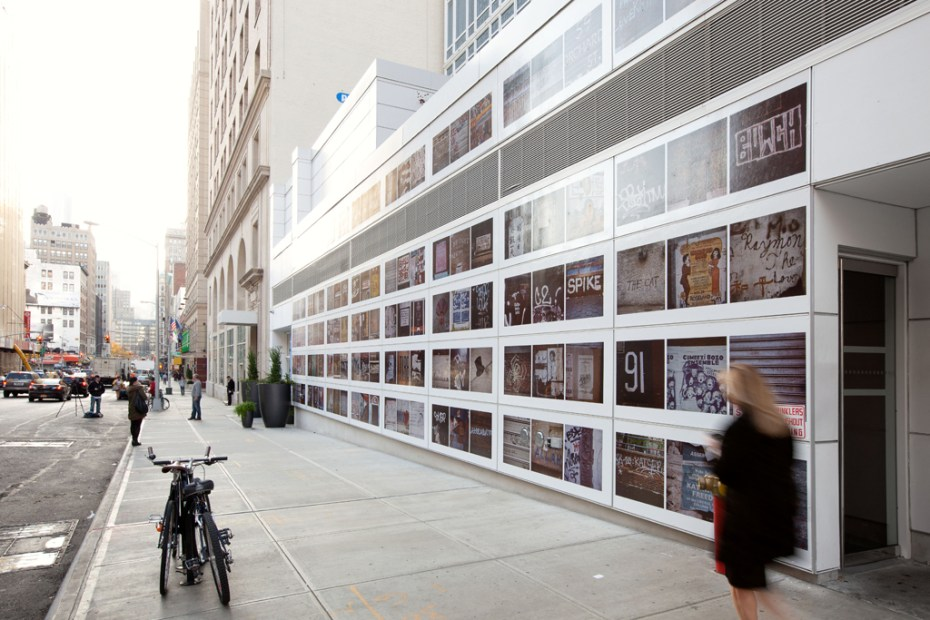 Image of Sol Lewitt 'On The Walls Of The Lower East Side' Project @ Mondrian SoHo Hotel