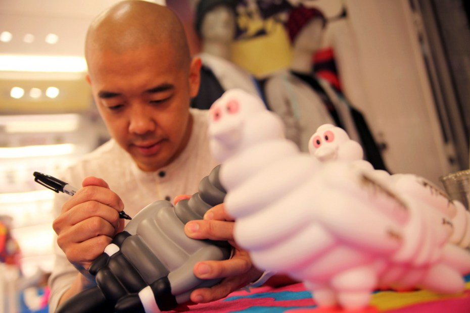Image of Staple Design x Kidrobot Staple Tire Pigeon Launching Party Recap