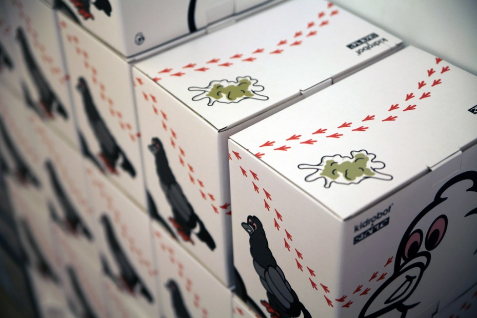 Image of Staple Design x Kidrobot Staple Tire Pigeon Launching Party Recap