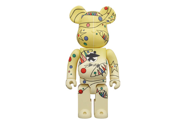 Image of Stussy x Medicom Toy World Wide Tour 2 Bearbrick 100% & 400%