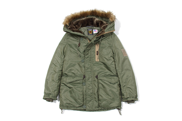 Image of Stussy x Schott 2011 Winter Outerwear Collection