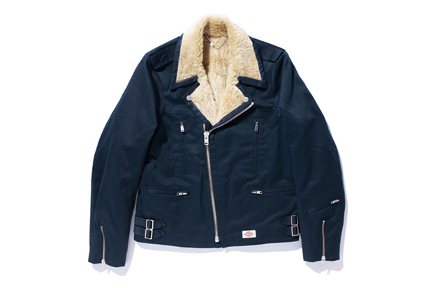 Image of SWAGGER x Dickies T/C TWILL BOA RIDERS JACKET