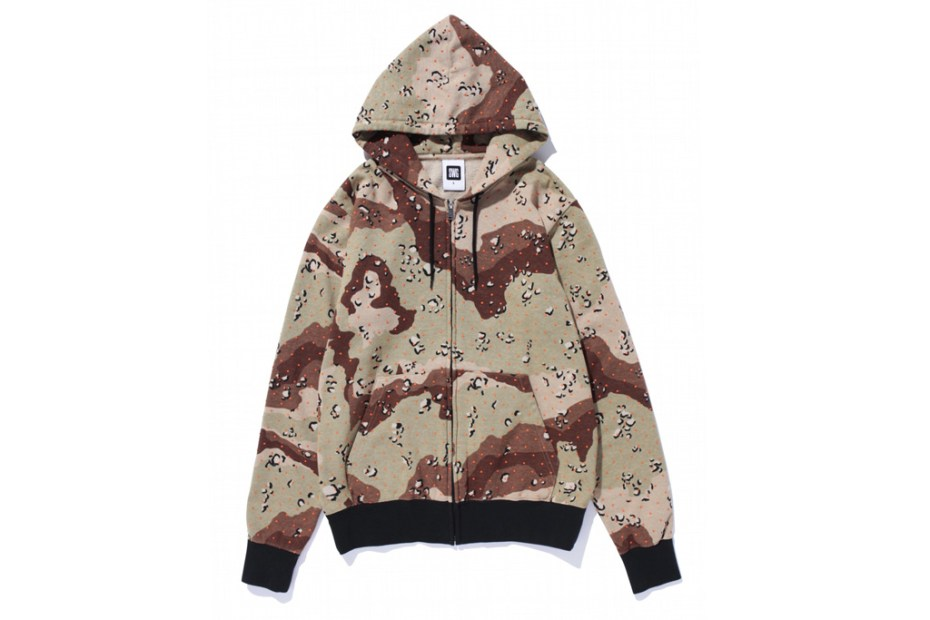 Image of SWAGGER DOT CAMO HOODIE