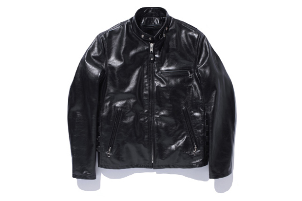 Image of SWAGGER x Schott 641 LEATHER SINGLE RIDERS