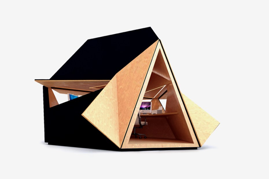 Image of tetra shed Modular Garden Office