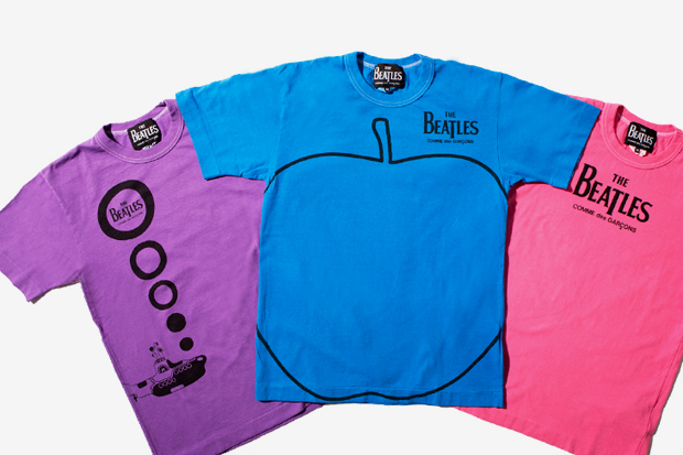 Image of The Beatles x COMME des GARCONS 2011 Fall/Winter T-Shirts