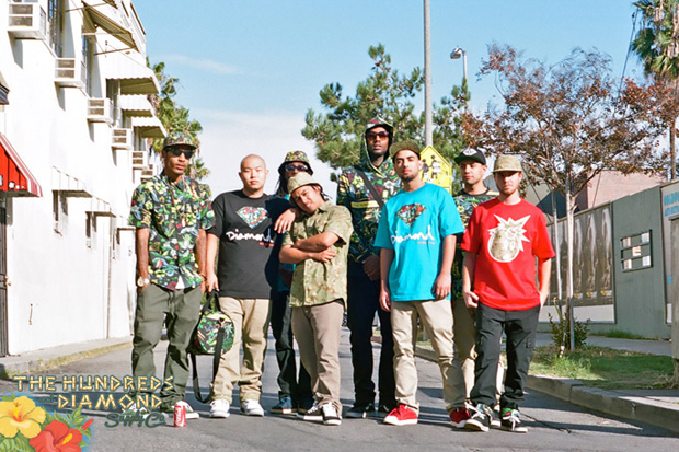"Image of The Hundreds x Diamond Supply Co. 2011 ""Forever Summer"" Collection"