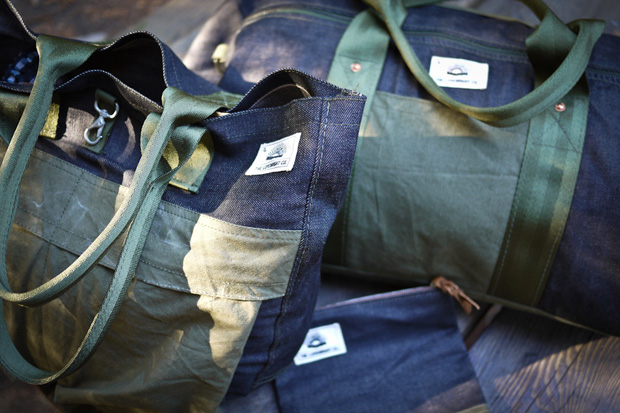Image of The Lovewright Co. x Jyumoku Reclaimed Bag Collection