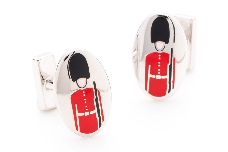 Image of Thomas Pink Guardsman Cufflinks