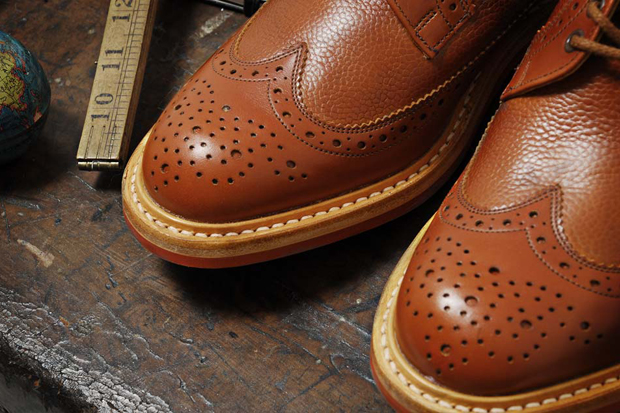 Image of Tricker's for End Hunting Co. Two Tone Long Wing Brogue
