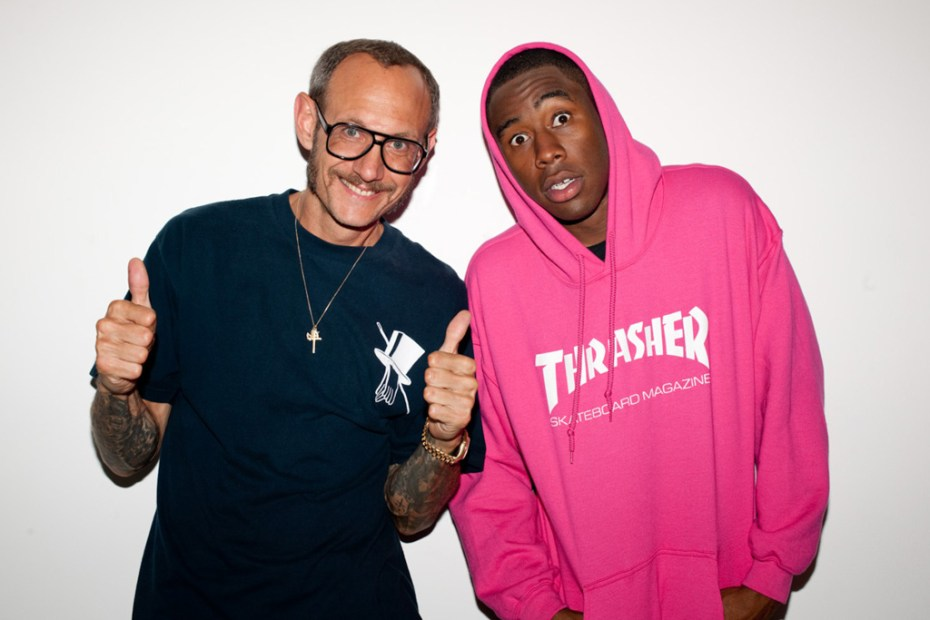 Image of Tyler, the Creator shot by Terry Richardson