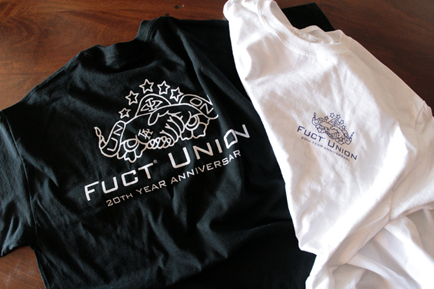 Image of Union x FUCT 20th Anniversary T-Shirt