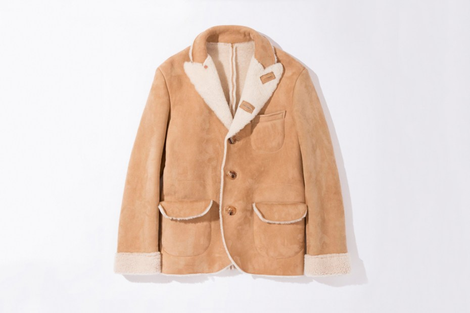 Image of UNUSED Sheepskin Jacket