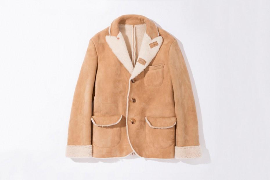 Image of UNUSED Sheepskin Jacket