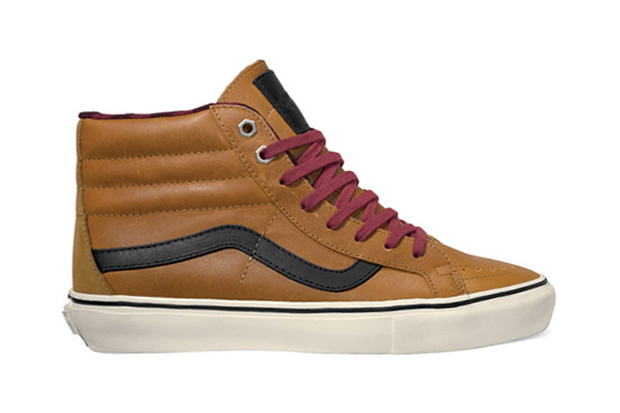 "Image of Vans Vault 2011 Fall/Winter ""Leather & Flannel"" Sk8-Hi LX & Era LX"