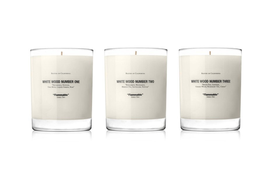 Image of Win a Baxter of California White Wood Candle Set!