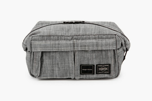 Image of wings + horns x Porter Pouch