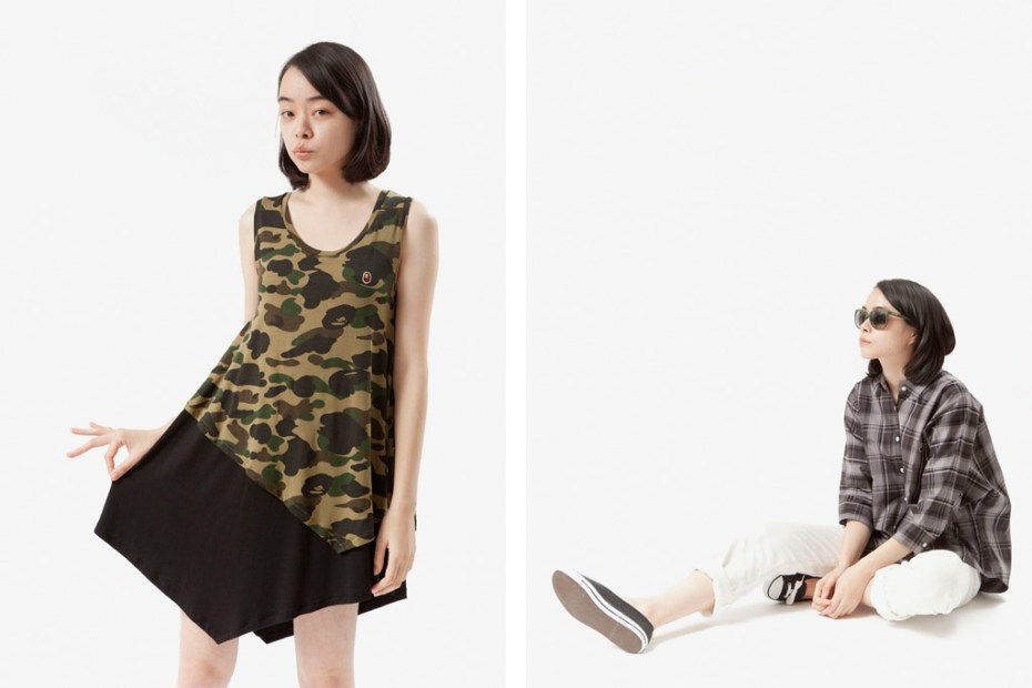 Image of A Bathing Ape Ladies 2012 Spring/Summer Lookbook