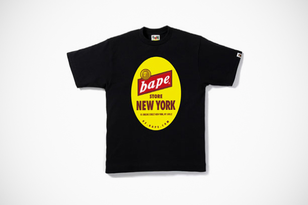 Image of A Bathing Ape New York Store 7th Anniversary T-Shirt