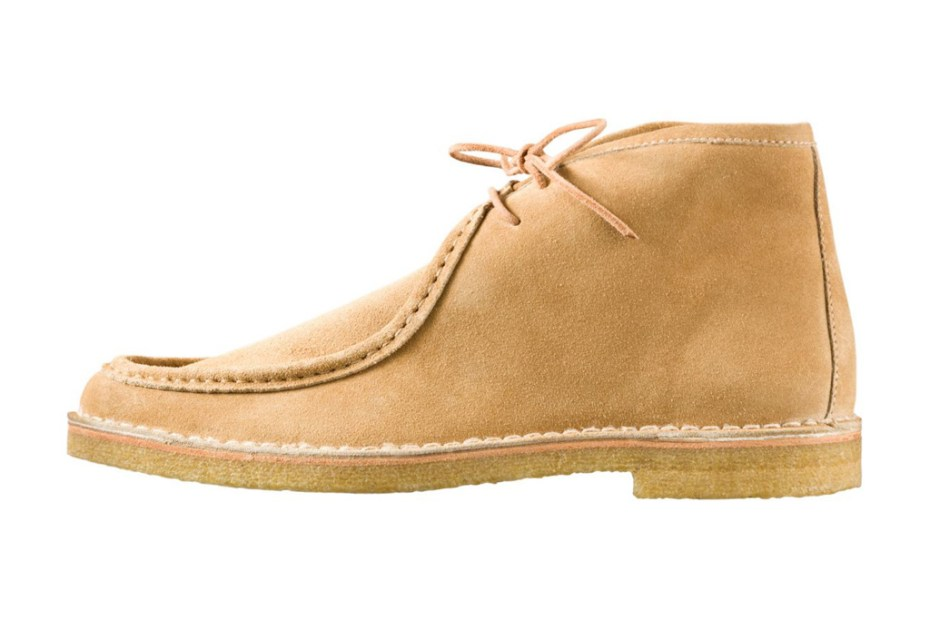Image of A.P.C. 2012 Spring Ankle-High Moccasins