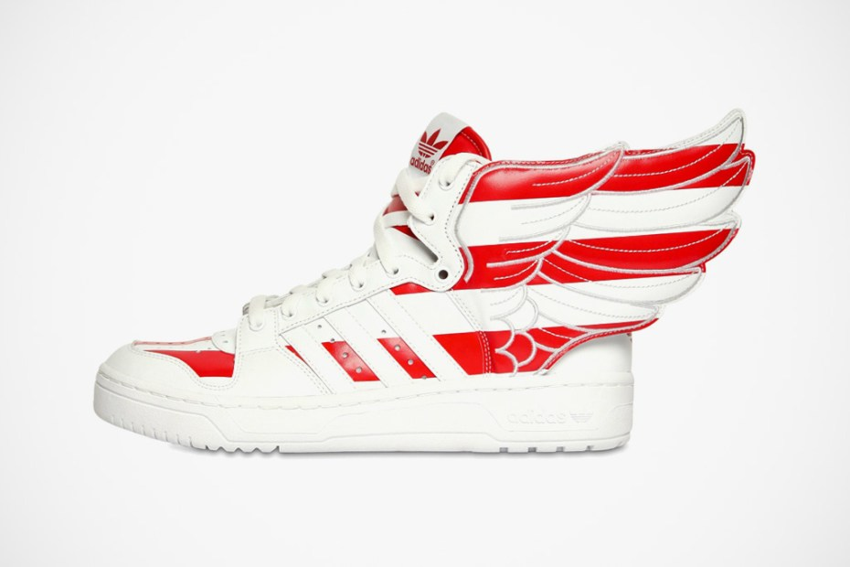 "Image of adidas Originals by Originals Jeremy Scott JS Wings ""Air Force Flag"" Pack"
