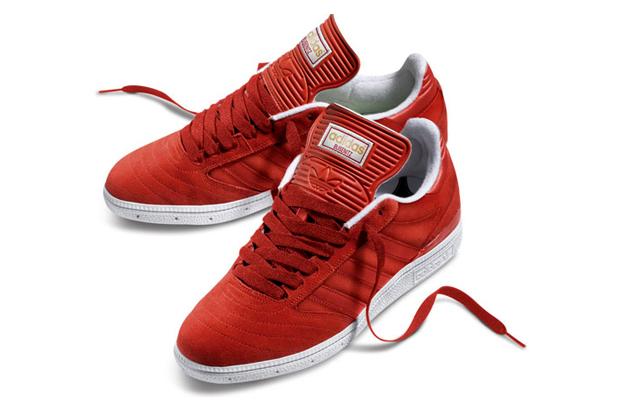 Image of adidas Skateboarding Busenitz University Red