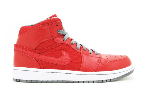 Image of Air Jordan 1 Phat Varsity Red/Cool Grey