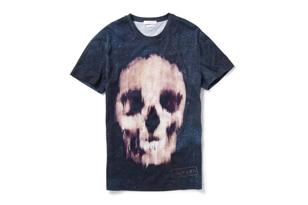 Image of Alexander McQueen Skull T-Shirt
