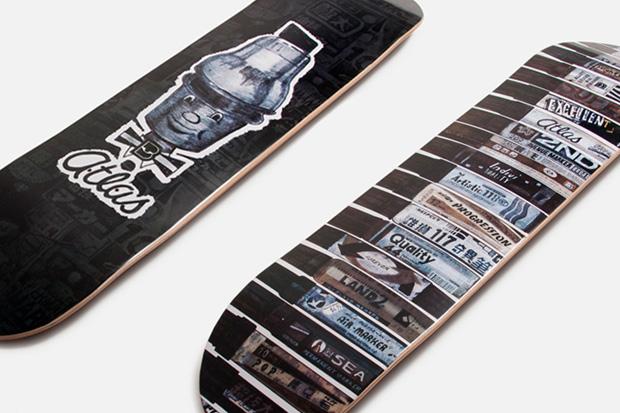 Image of Allister Lee x Atlas Skate Decks