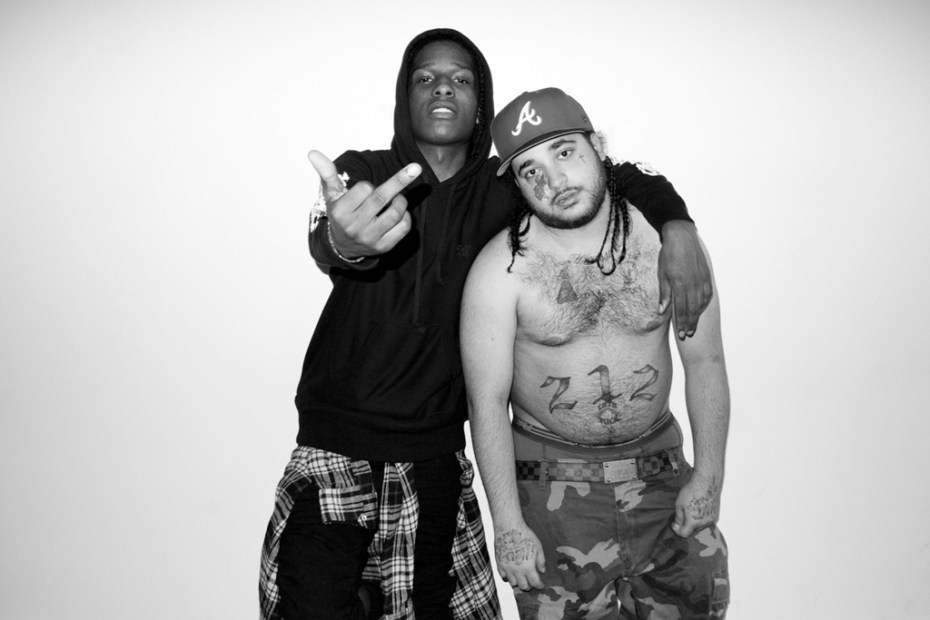 Image of A$AP Rocky shot by Terry Richardson