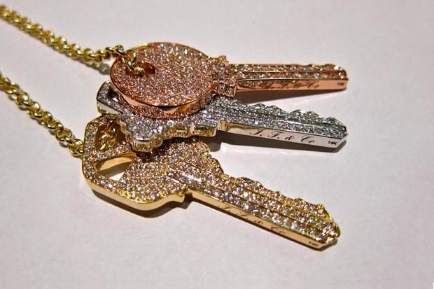 """Image of Ben Baller for Pusha T """"Keys"""" Chain"""
