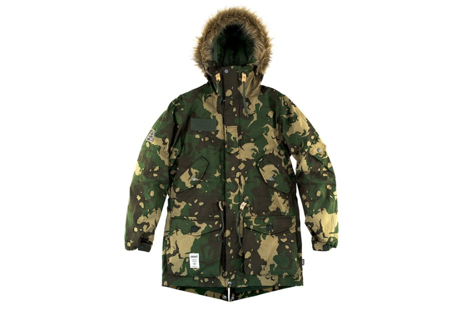 Image of C-Law x Addict Camo Parka