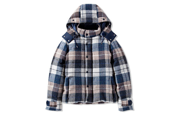 Image of CASH CA Wool Down Hoody Jacket