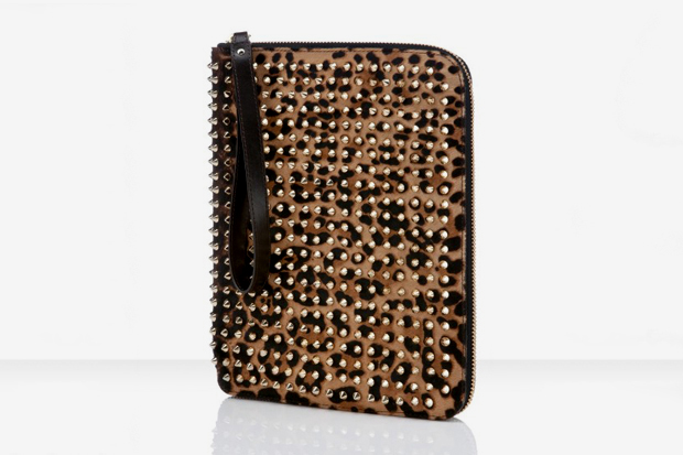 Image of Christian Louboutin Leopard Pony Cris iPad Case