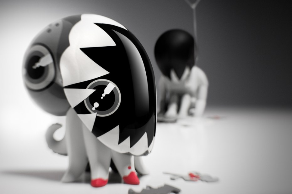 "Image of Coarsetoys ""Casting Shadows Pain"""