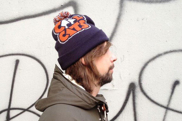 Image of Cool Cats for Kangol Navy Beanie