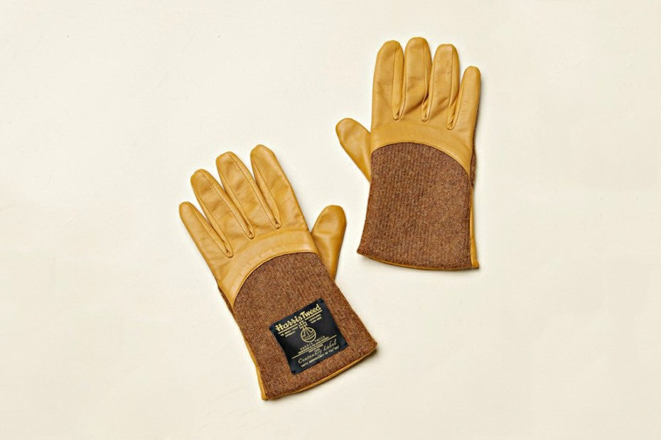 Image of COSMIC WONDER Light Source MEN x Harris Tweed Gloves