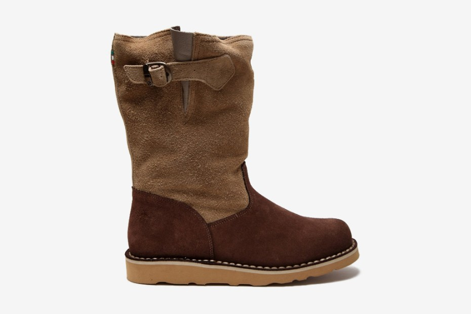 Image of Diemme Low Siberia Vesuvio Suede Boot