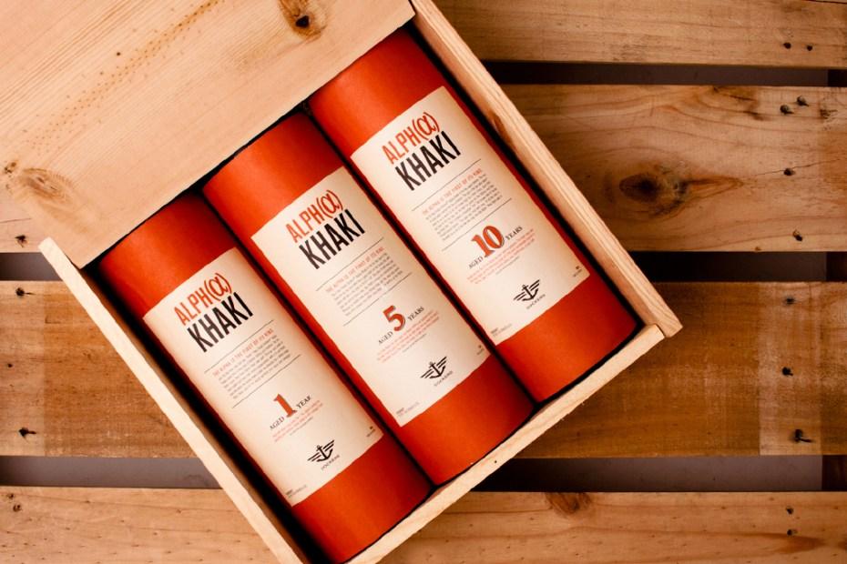 Image of Dockers Alpha Khaki Whiskey Crate