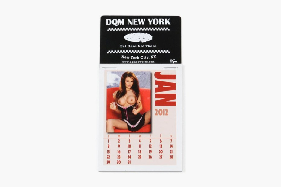Image of DQM 2012 Dashboard Girls Calendar
