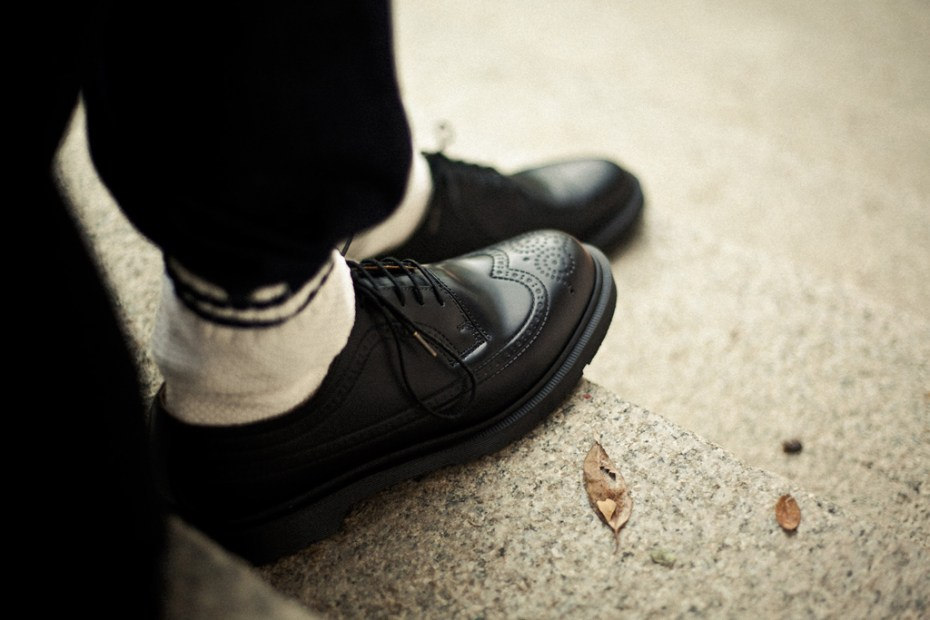Image of Dr. Martens for Hypebeast 3989 5-Eye Brogue Lookbook