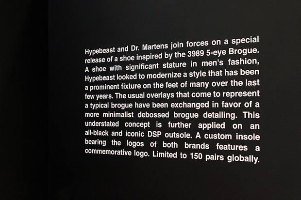 Image of Dr. Martens for Hypebeast Exclusive Installation at Dover Street Market London