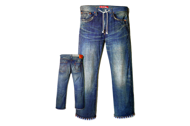 Image of eYe COMME des GARCONS Junya Watanabe MAN x Levi's Denim Jeans