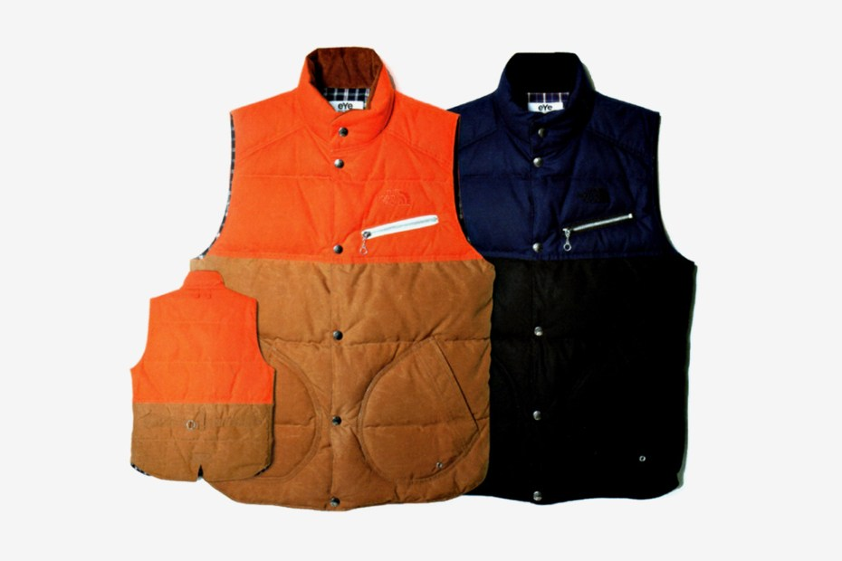 Image of eYe COMME des GARCONS JUNYA WATANABE MAN x The North Face Winter Coat Collection