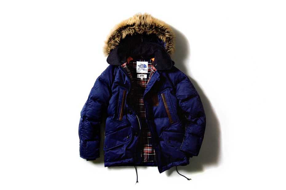 Image of eYe COMME des GARCONS JUNYA WATANABE MAN x The North Face Winter Down Coat