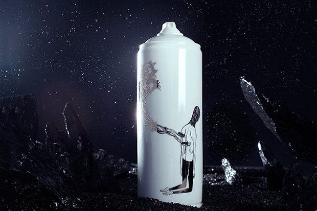 Image of Famiglia x Bombe Porcelain Artist Spray Cans