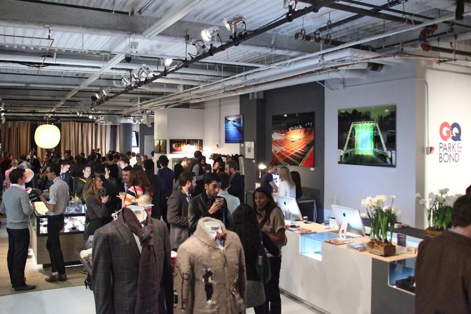 Image of GQ x Park & Bond Pop-Up Shop
